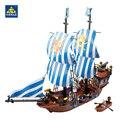 Kazi 87011 piratas armada insignia bloques 608 unids lepin ladrillos bloques huecos fija juguetes educativos para niños compatibles