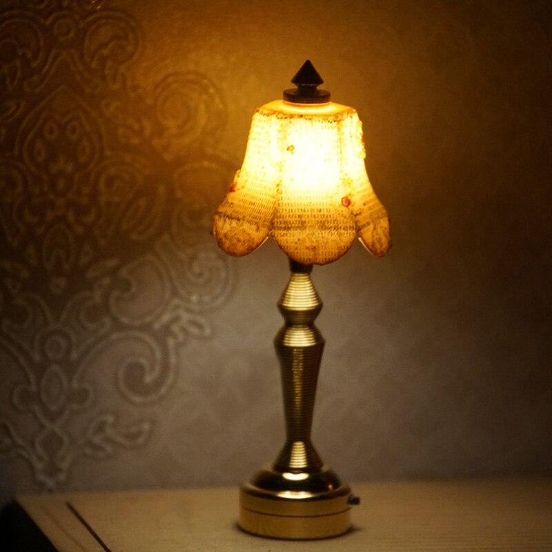 Maison de poupées Bronze bronze Interrupteur De Lumière
