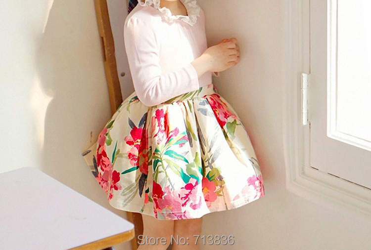 S Lace Fl Dresses Spring Fall Ball Grown Clothing Children Tutu Kids Party Wedding Dance Wear 5ap705ds 16 In From Mother On