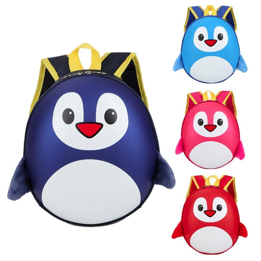 2018 горячая Распродажа прочный прекрасный мультфильм с рисунком пингвина Животные рюкзак малышей сумка домашнего хранения сумки случаи #0406