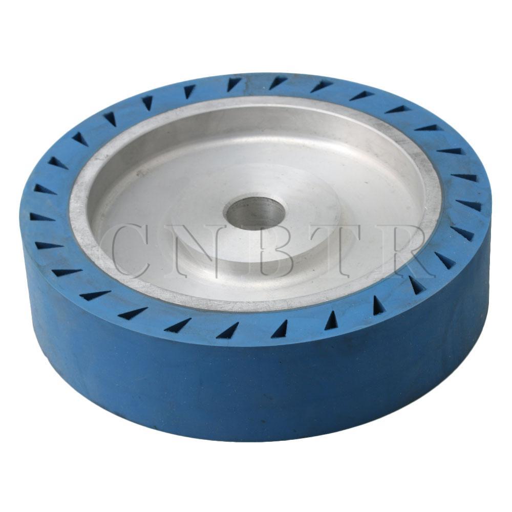 CNBTR 200x50x25mm Aluminum Belt Grinder Rubber Wheel Flat Contact Wheel Bearing Grinder Wheel for Belt SanderCNBTR 200x50x25mm Aluminum Belt Grinder Rubber Wheel Flat Contact Wheel Bearing Grinder Wheel for Belt Sander