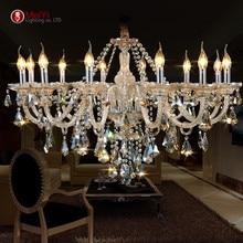 Neue Luxus Kronleuchter und angemeldet K9 Kristall-kronleuchter Beleuchtung Lampe 12 Lichter Hotle Halle beleuchtung und VIlla Freies Verschiffen