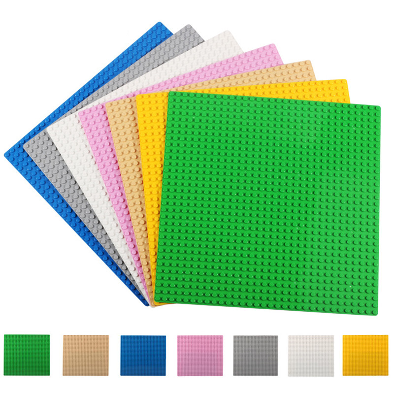 Classic Base Plates Plastic Bricks Baseplates Compatible Legoe Major Brands Building Blocks 3D Construction Toys 32*32 Dots