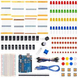 Starter kit для Ар-Дуино с резистор/LED/конденсатор/перемычек/макет Резистор Комплект