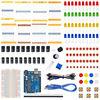 Starter Kit For Ar Duino With Resistor LED Capacitor Jumper Wires Breadboard Resistor Kit