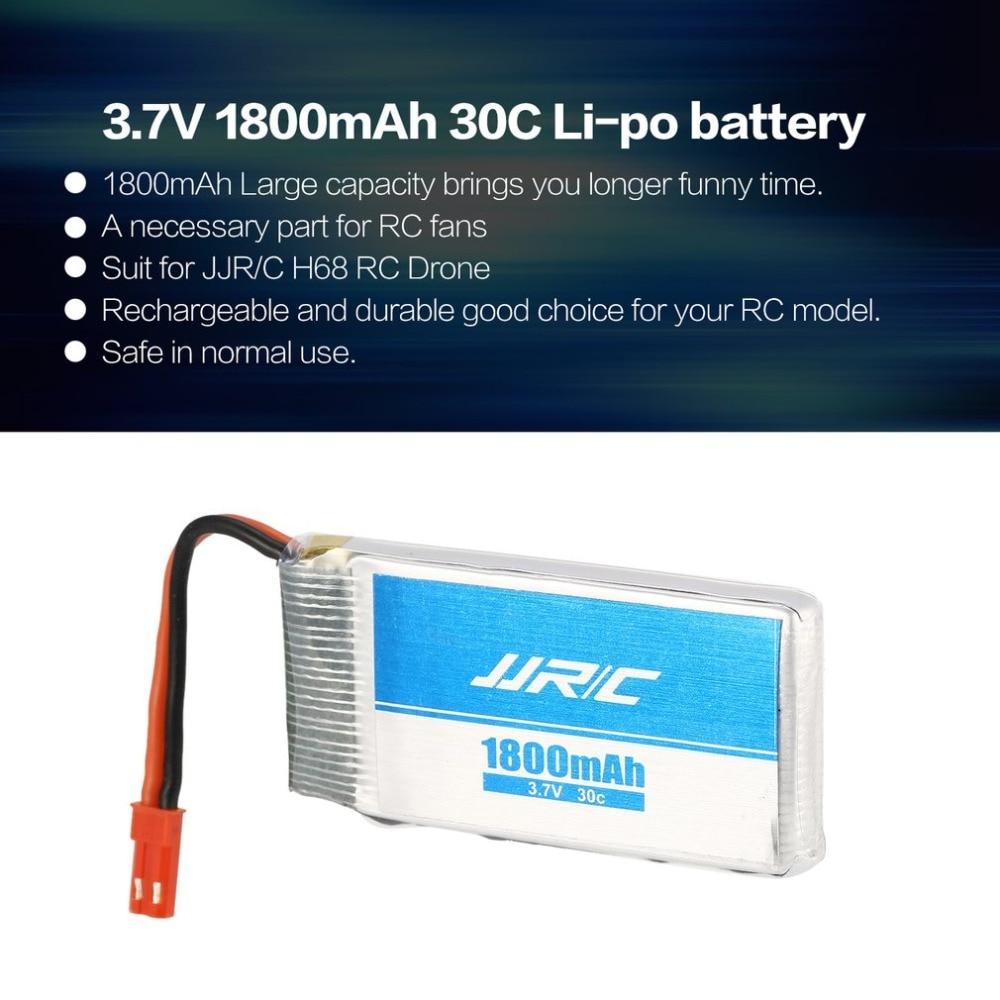 JJR/C 3.7V 1800mAh 30C 2S Li-po Recharge