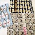 Cobertores do bebê Recém-nascido Cobertores Swaddle Newborn Handmade Malha Sofá Lance de Tricô de Algodão Cobertor 110*130 cm 20 cores Disponíveis