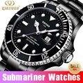 Топ класса люкс KINYUED Relogio Automatico Masculino Мужские механические часы модные водонепроницаемые бизнес подводные часы мужские часы