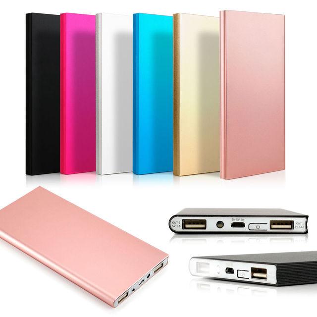 Ultrafinos 30000 mah portátil banco do poder carregador de bateria externa para i [hone6/7 xiaomi celular