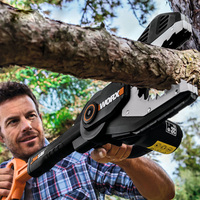 Литиевая Электрический бензопилой Семья Отдых Сад электрическая пила Портативный бензопилой дерево режущие инструменты WG329E
