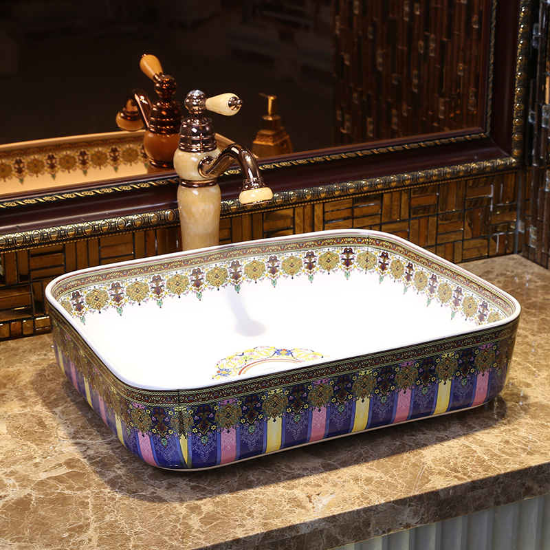 cuarto de bao lavabo de cermica sobre encimera lavabo rectangular buque fregadero bao lavabo lavabos fregaderos