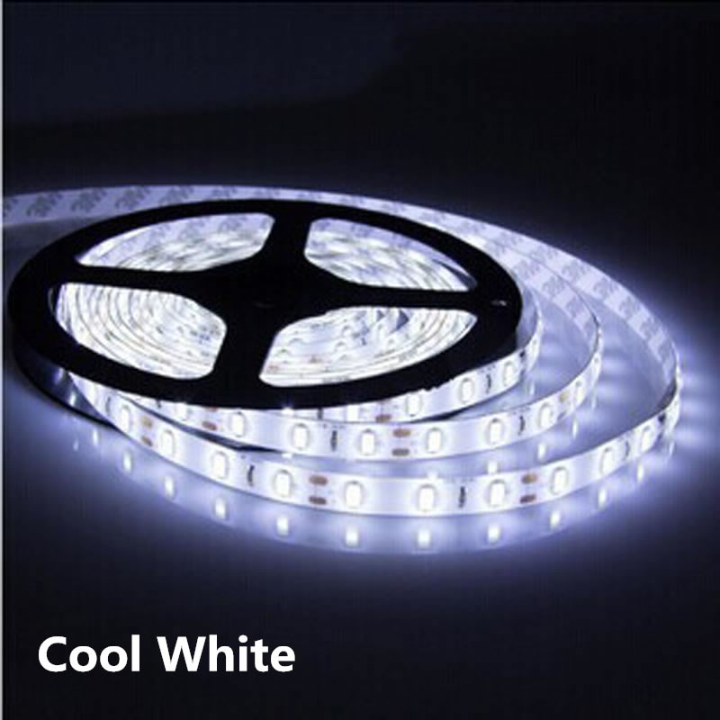1m 2m 3m 4m 5m DC 12V 5630 LED Strip Lights Flexible LED Lights Strip Waterproof Fita 60 LED/M With Self-adhesive Back Tape