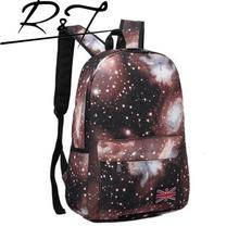 Fashion 2016 Hot Star Sky Backpacks Travel Backpacks Girl's Backpack School Bags For Teenagers Students Book Bags Women Bag