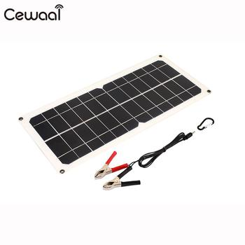 10W 18V Emergency Power Supply Solar Generator Solar Charging Travel Car Battery Chargiing Portable Durable