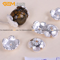 Spacer Craft Bead Caps Bright Tibetan Silver Bali Style Jewelry Findings 12mm Wholesale 20 Pcs/Bag Free Shipping