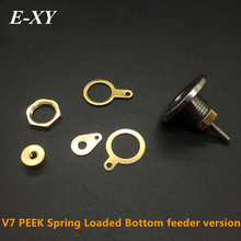 E-XY V7 Connector DIY PEEK Spring Loaded Bottom Feeder Version VAPE E-Cigarette Accessories mod 5 pieces