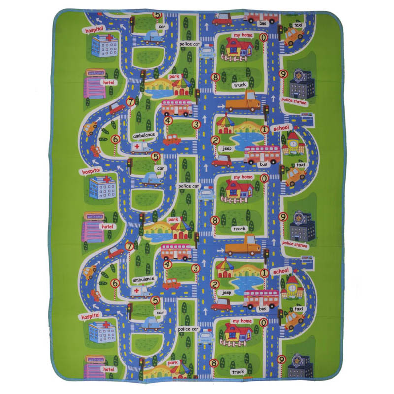 2 styles baby play mat children kids rugs baby toys city traffic pattern developing rug carpet for baby puzzle toys eva foam mat