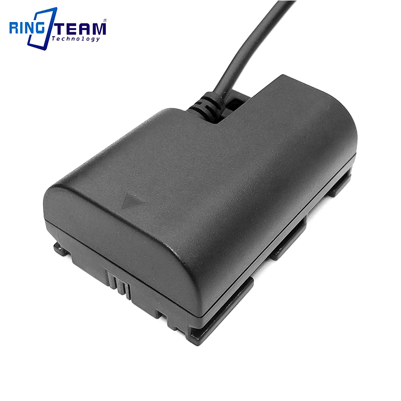 Image 5 - Dummy Battery LP E6 DR E6 DC Coupler Plus 28WH Power Bank for  Canon Digital Cameras EOS 5D 2 3 4 5DSR 6D 6D2 7D 7D2 60D 60Da 80DAC/DC  Adapters
