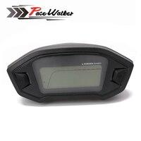 Universal Motorcycle LCD Digital Speedometer Odometer Backlight Motorcycle Odometer For 1 2 4 Cylinders