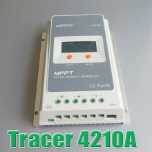 Tracer 4210A EPsloar 40A MPPT Solar system Kit Controller 12V 24V LCD Diaplay EPEVER Regulators