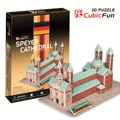 candice guo!! New arrival 3D puzzle toy CubicFun paper model jigsaw game Speyer Cathedral C710h 1pc