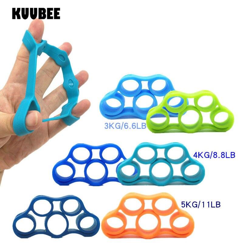 Finger Resistance Bands 3 Level Finger Stretcher Hand Exerciser Grip Strength Finger Trainer