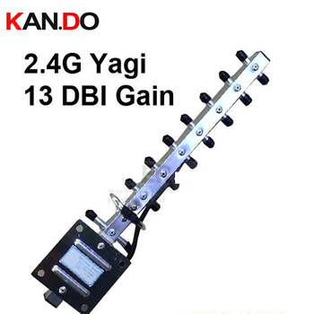8 pcs / lot 13dbi SMA connector 2.4GHz wifi antenna,yagi 2.4G antenna for receive or transmission yagi antenna 2400mhz
