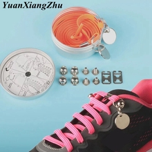 1Pair 100CM 12 Colors Quick No Tie Lazy Shoelces For Chidren and Adults One Hand Laces Sport Flat Athelic Casual Shoes