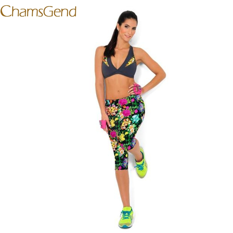 2017 Fashion 4 Colour High Waist calzas deportivas mujer fitness Pants Leggings fitness leggings women tops #35