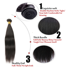 For Sample 50/pc Brazilian Virgin Hair Straight 7A 100% Unprocessed Virgin Brazilian Human Hair Extensions Can Be Dyed to #27