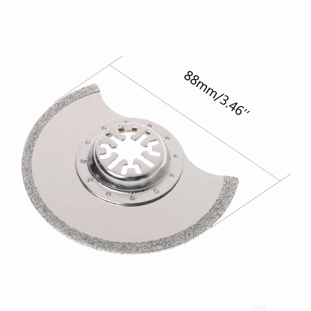 88Mm Diamond Segment Oscillating Multitool SawใบมีดสำหรับชิคาโกBosch Makita