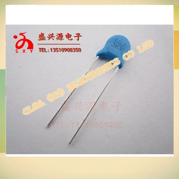 High p ceramics capacitors 3 kv102 1 nf 1000 pf