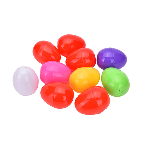 N2HAO Plastic 5 eggs 6 Colors Wise Pretend Puzzles Smart Eggs Baby Kid Learning Kitchen Toy for children Tool Party Favor