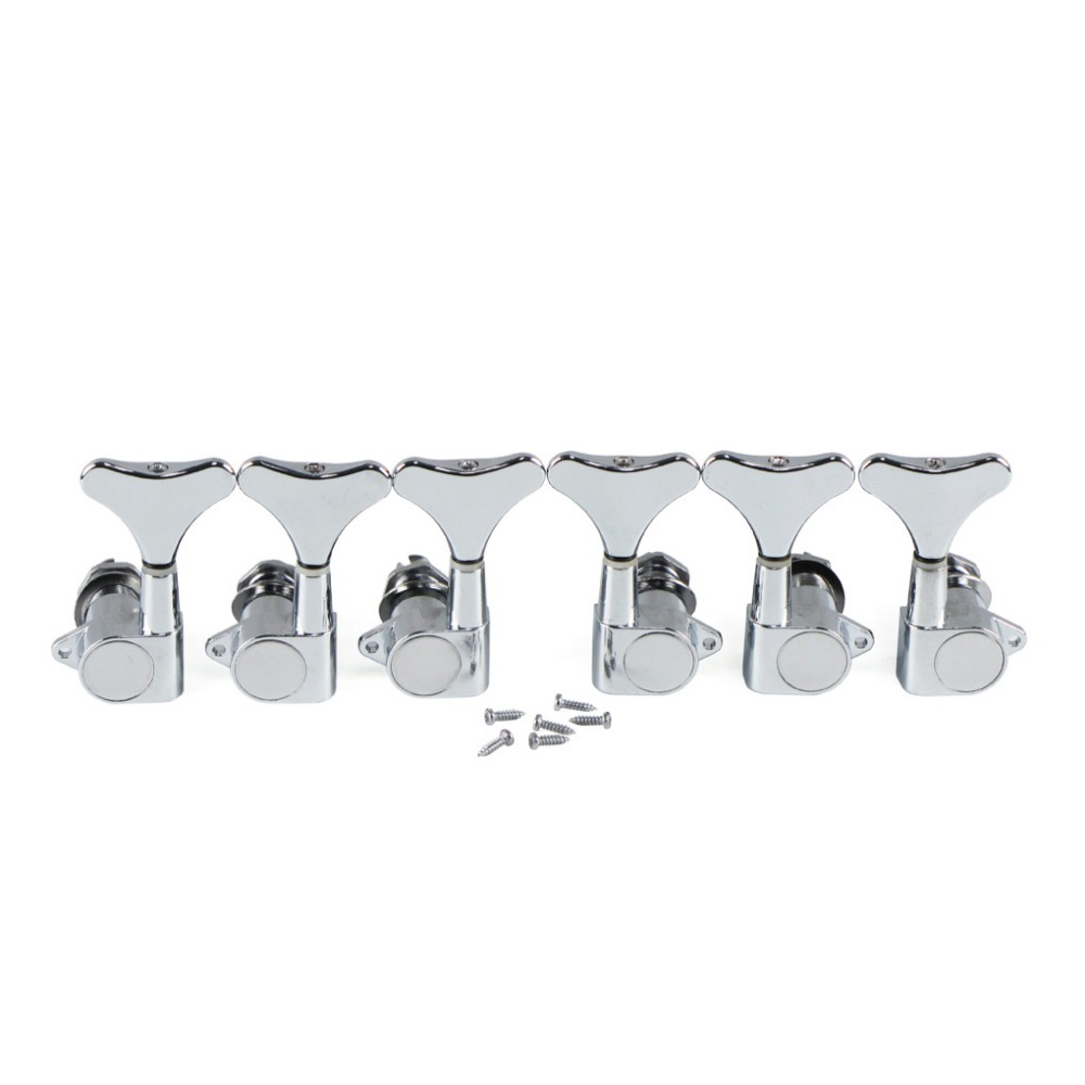 Left Handed Electric Guitar Pickguard Strat Sss 52 52mm Pickup Lefty Fender Stratocaster Mexican Wiring Diagram New 6pcs 3l3r Sealed Bass Tuners Tuning Pegs Keys Machine Heads Silver For 5