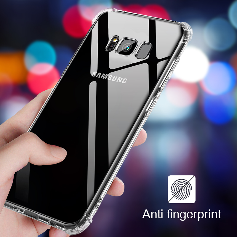 Airbag Full Cover For Samsung Galaxy S10 E S9 S8 Plus Note 8 A8S A6S A6 A7 A8 A9 Plus 2018 J2 J3 J4 J5 J6 J7 J8 Core Anti Bag