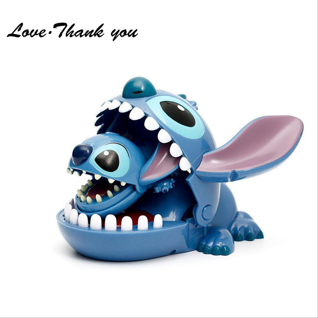 Cute Lilo Stitch Action Bite The Hand Doll Small Figure Keychain Gift Desktop Decoration Pecial