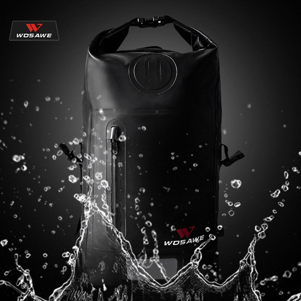 WOSAWE sac Moto étanche sac à dos Moto casque Moto sac à dos bagage Moto réservoir sac Moto sac de course