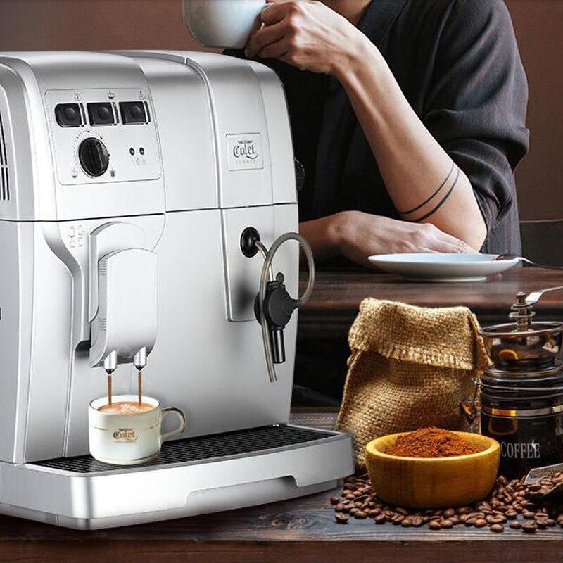 Automatic Espresso Coffee Maker 19 Bar Coffee Making Machine Foaming and Coffee Toaster CLT-Q004 худи print bar log lady coffee