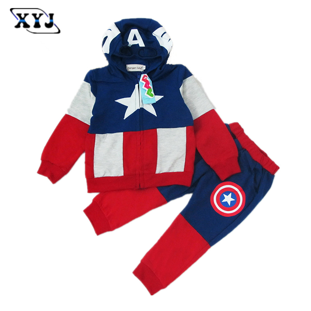 Online Get Cheap Kids Captain America Tracksuit -Aliexpress.com ...