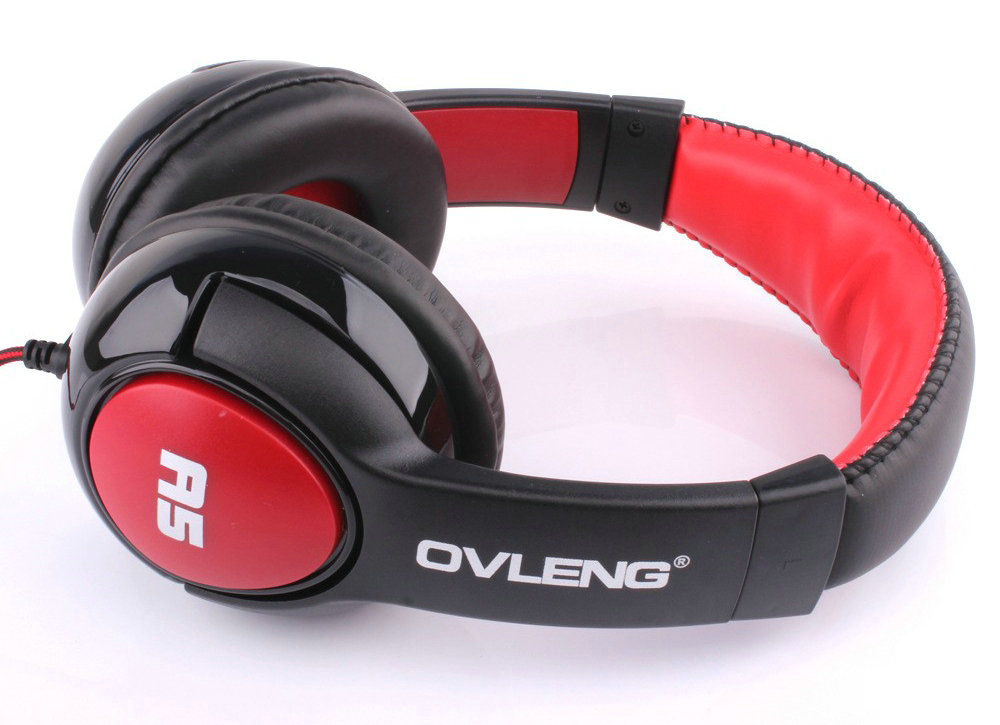 wholesale High quality OVLENG A5 HiFi Deep Bass Stereo Wired Headphone Music Headset With Microphone rock y10 stereo headphone earphone microphone stereo bass wired headset for music computer game with mic