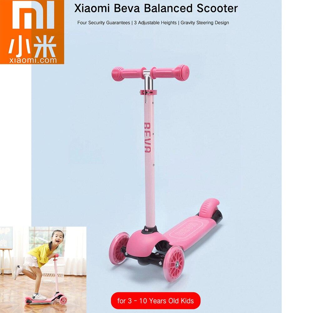 Xiaomi Beva Kinder Kick Roller Für 3-10 Jahre Alte Kinder 3 Einstellbare Höhen Skateboard Tretroller 2 Räder Kinder Roller Gute QualitäT Roller
