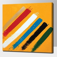 2019 New Strips abstract painting handmade simple abstract color art oil paintings on canvas decoration wall hanging picture
