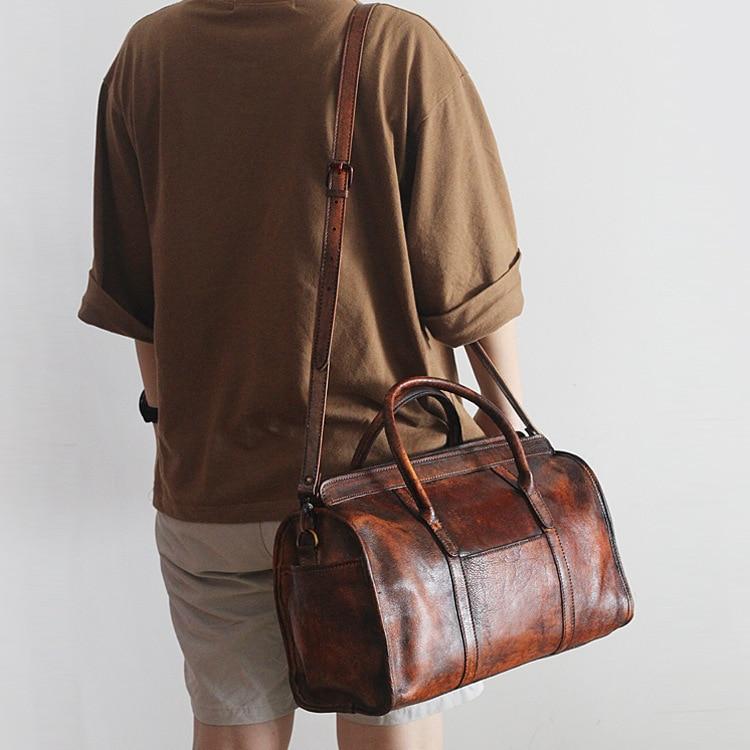 2016 Limited New Design Chinese Element Genuine Leather Solid Vintage Casual Tote Bag Women Handbag Cowhide Shoulder Bags