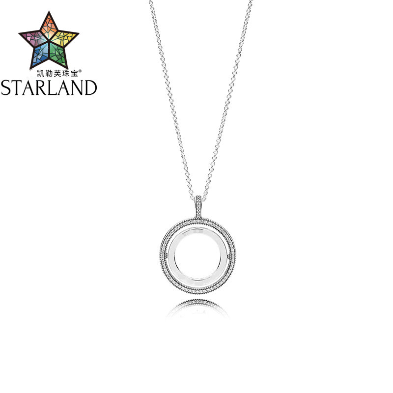 Starland 2019 45 60 70cm 100% 925 Sterling Silver Fashion Necklace pendant Fit Valentines Day WomanStarland 2019 45 60 70cm 100% 925 Sterling Silver Fashion Necklace pendant Fit Valentines Day Woman
