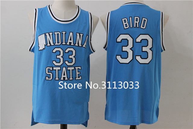 buy popular 6a27d 7fd85 larry bird jersey indiana state
