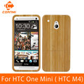 CORNMI For HTC One Mini M4 Case Wood Real Hard Case Bamboo Back Cover For HTC M4 Housing Nature Wooden Pattern Protectoer JTH