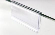 10/8/6 см x 42 прозрачный пластиковый бирка для ценников значок
