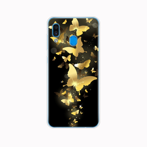 Image 5 - עבור סמסונג גלקסי A20 מקרה A20E סיליקון חזור טלפון כיסוי עבור Samsung A20 2019 A205F A20E A202F רך TPU Fundas coque פגוש