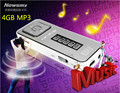 Newsmy B39 4G mp3 player sports gear lyrics video recording Cheap authentic Free Shipping free shipping
