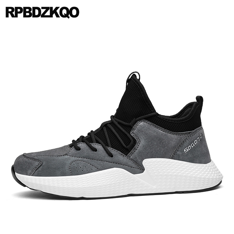 Fashion Sneakers 2017 Shoes Comfort Black Flats Popular Trainers Suede New Walking Spring Hot Sale Autumn Stylish glowing sneakers usb charging shoes lights up colorful led kids luminous sneakers glowing sneakers black led shoes for boys